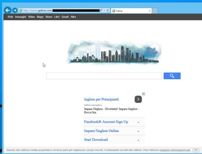 Remove Search.golliver.com hijack (Virus Removal Guide)