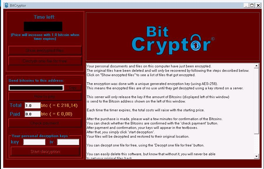 Remove bit cryptor virus files encrypted ransomware bit cryptor virus ccuart Gallery