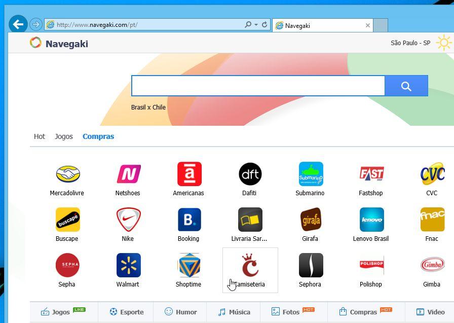 Remove Navegaki.com hijack (Virus Removal Guide)