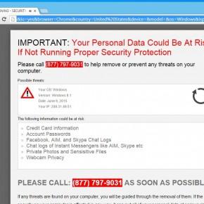 Browsercriticalalert.com Virus