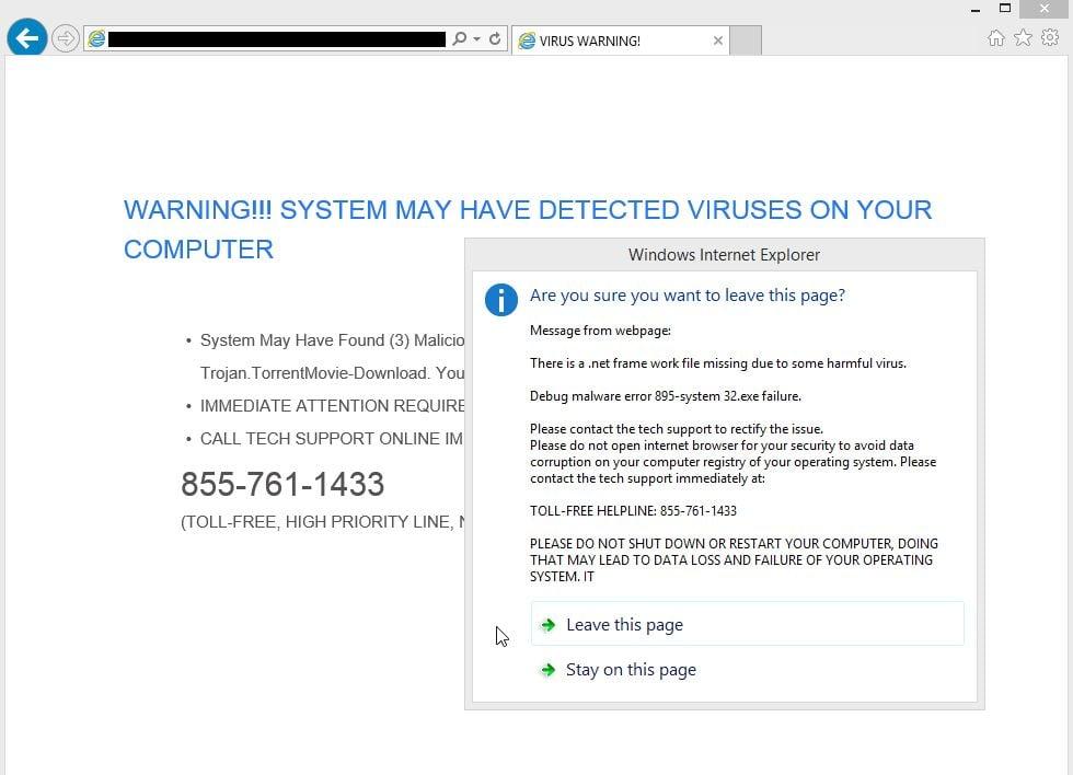 PcVirusAlarm.com Virus