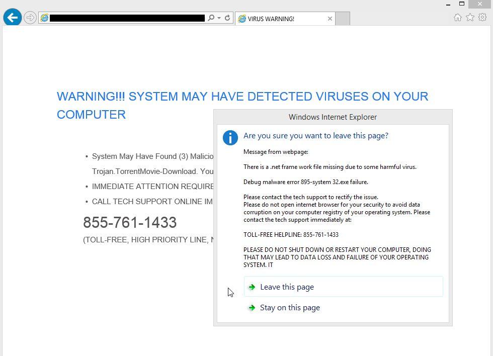 Remove Quickbookstool.com pop-up virus (Support Scam)