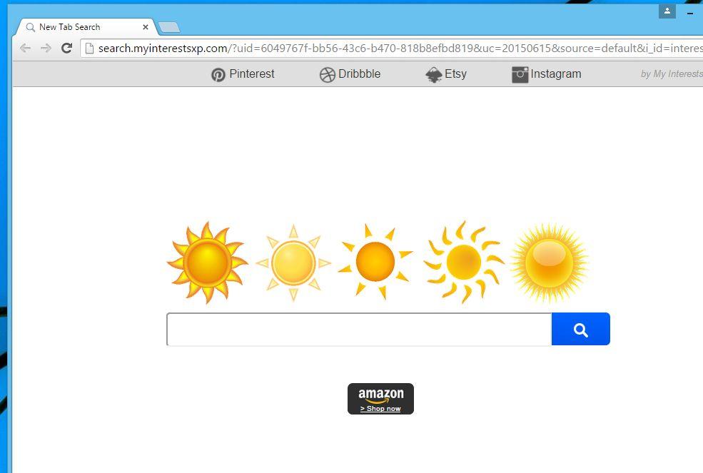 Search.myinterestsxp.com virus