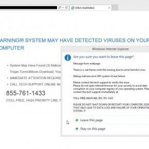 Syspcerr.com Virus