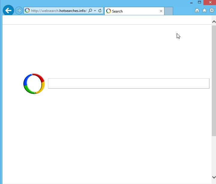 Websearch.hotsearches.info Virus