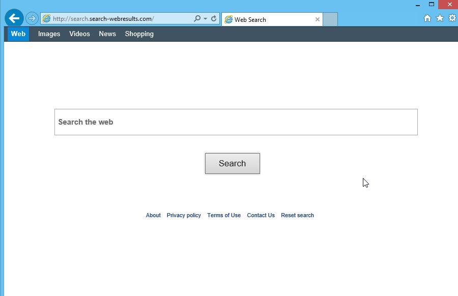 Remove Search-webresults.com hijack (Virus Removal Guide)