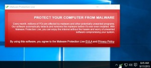 "Remove ""Malware Protection Live"" virus (Removal Guide)"
