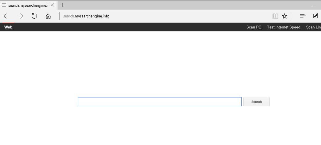 Search.mysearchengine.info Virus