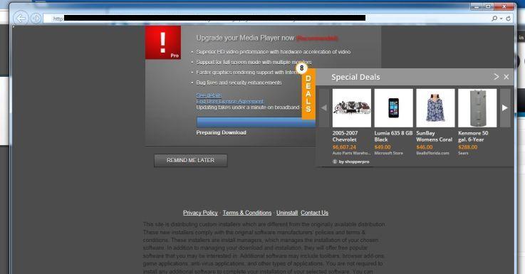 Thesofttpro.com Virus
