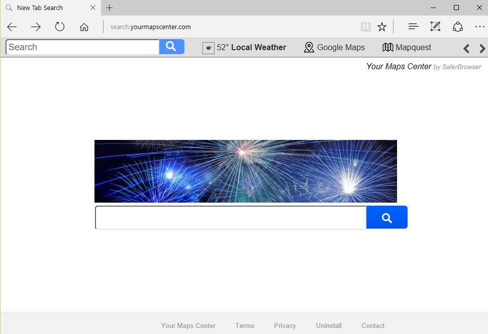 Search.yourmapscenter.com virus