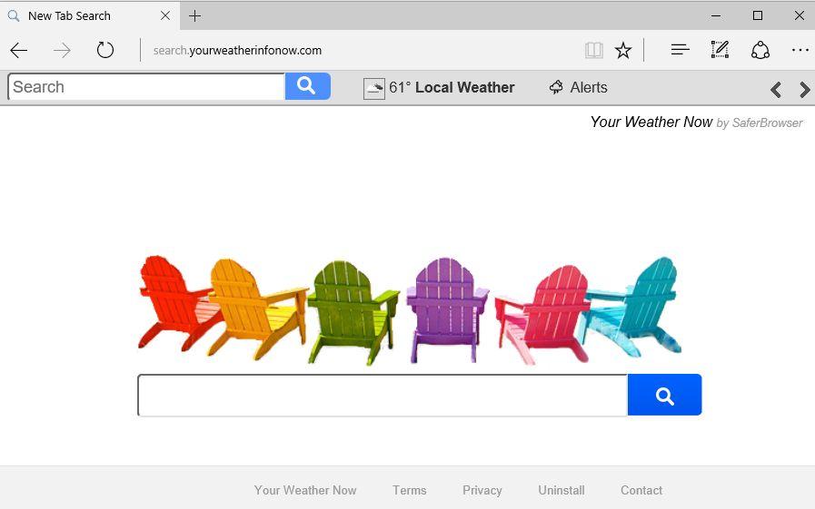 Search.yourweatherinfonow.com virus