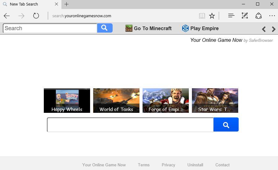 search.youronlinegamesnow.com virus