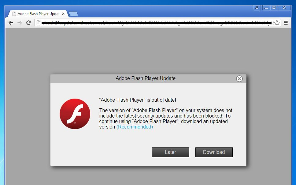 How to remove adobe flash player is out of date pop up scam alerts adobe flash player is out of date popup stopboris Image collections