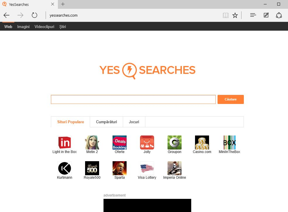YesSearches redirect