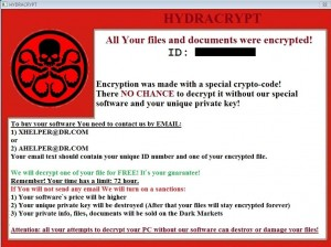 Remove HYDRACRYPT ransomware (Virus Removal Guide)