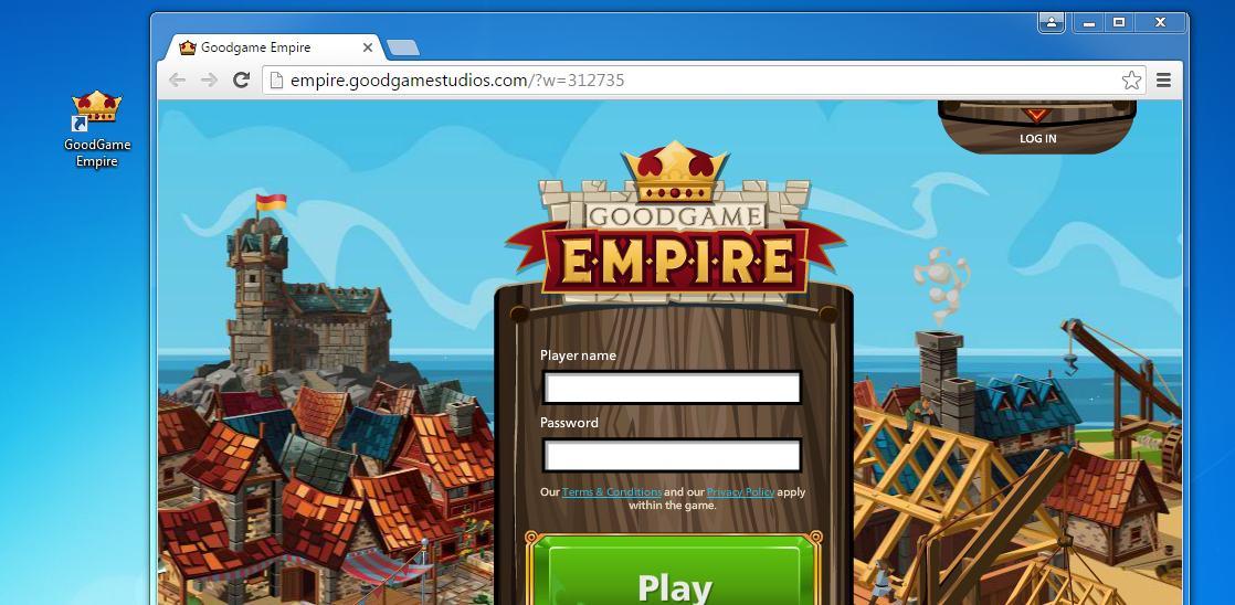 GoodGame Empire hijack