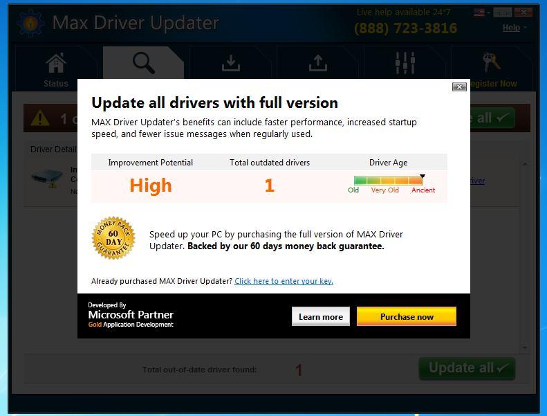driver updater omni tweak registration key