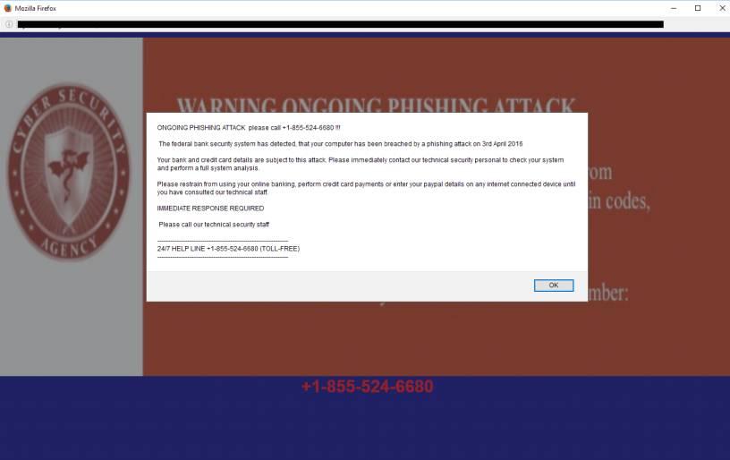 Ongoing Phishing Attacks Virus
