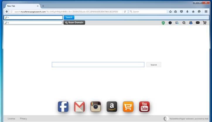 Search.mysafenewpagessearch.com virus