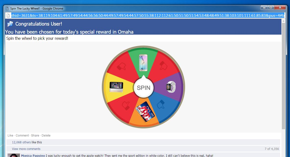 How To Remove Spin The Lucky Wheel Pop Up Ads Survey Scam