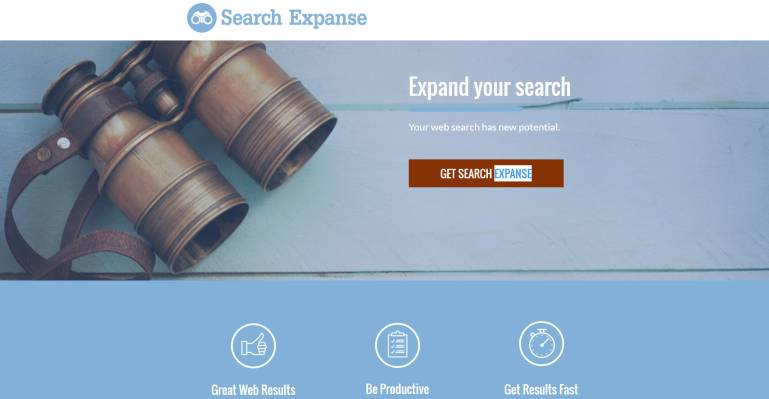 Search Expanse redirect