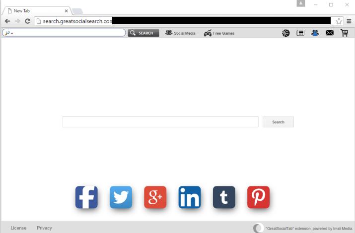 Search.greatsocialsearch.com virus