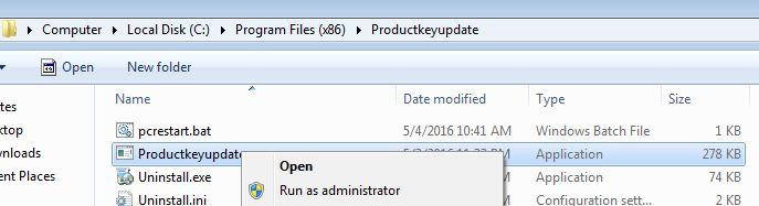 Delete malicious program