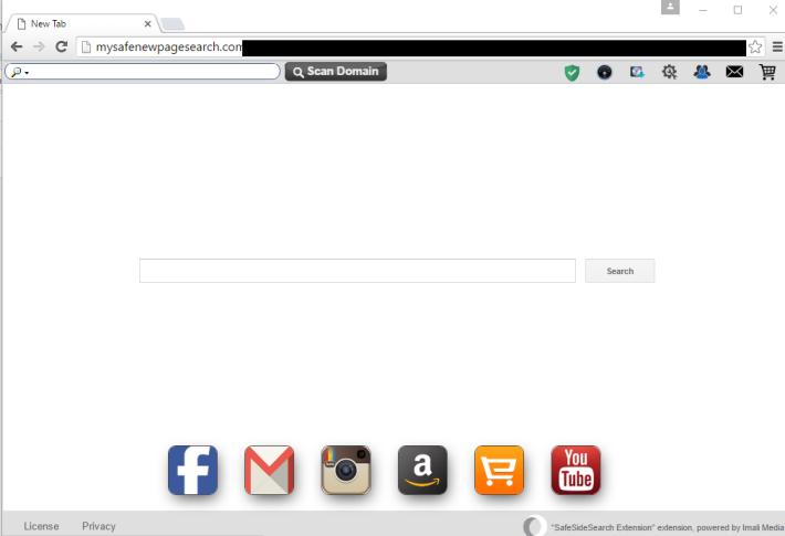 Mysafenewpagesearch.com virus