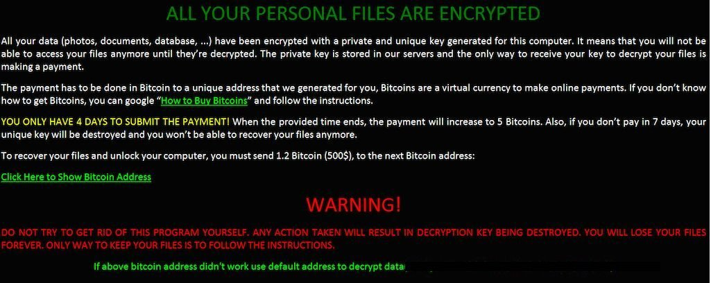 how to get rid of encrypted virus