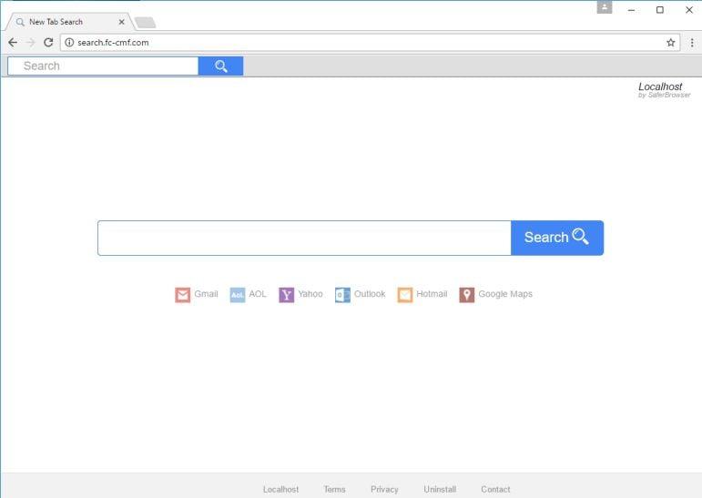 Localhost New Tab Chrome