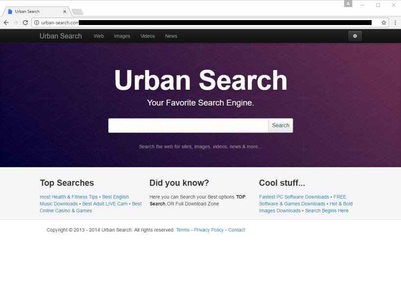 Urban-Search.com Virus