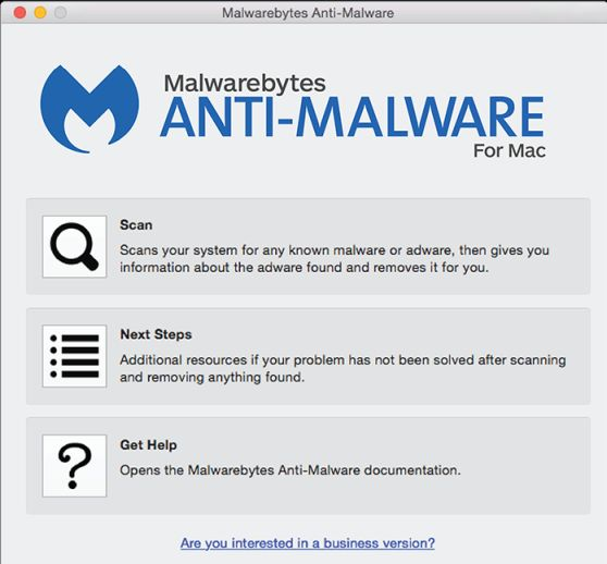 Scan with Malwarebytes for Mac