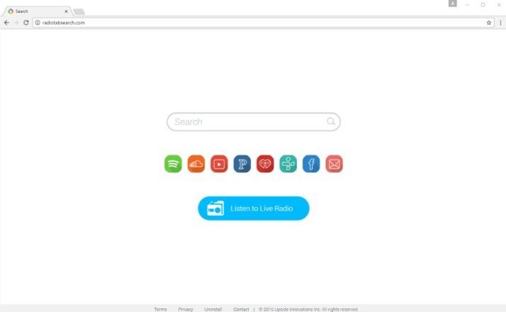 Radiotabsearch.com virus