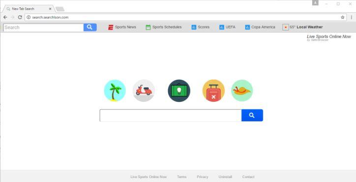 Search.searhlson.com virus