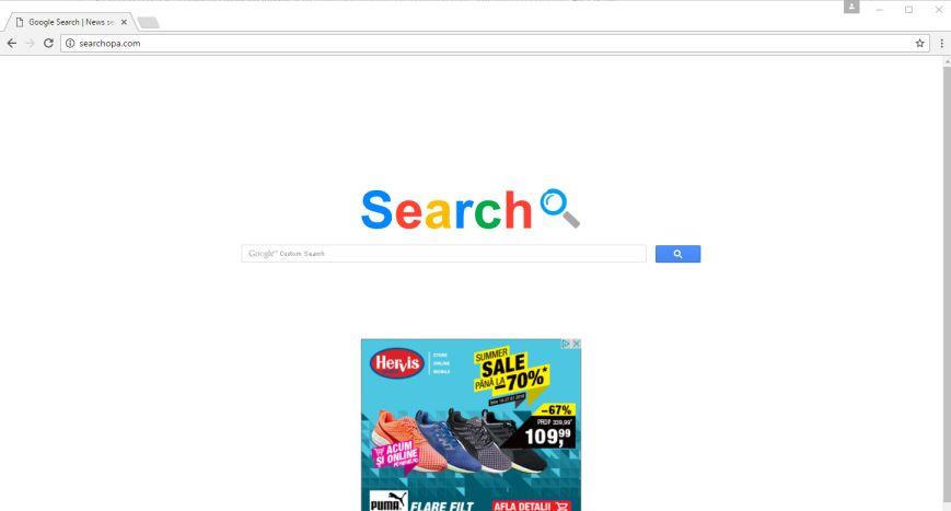 Searchopa.com malware