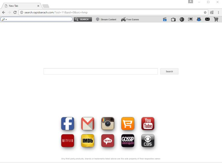 Search.rapidserach.com virus