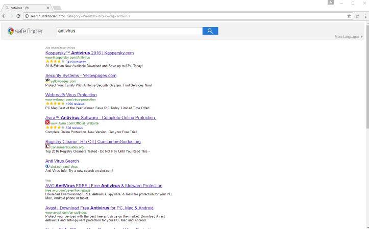 search.safefinder.info virus