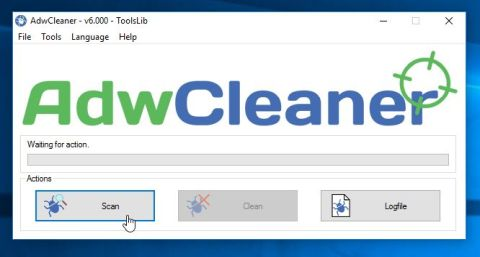 AdwCleaner Scan for Adware