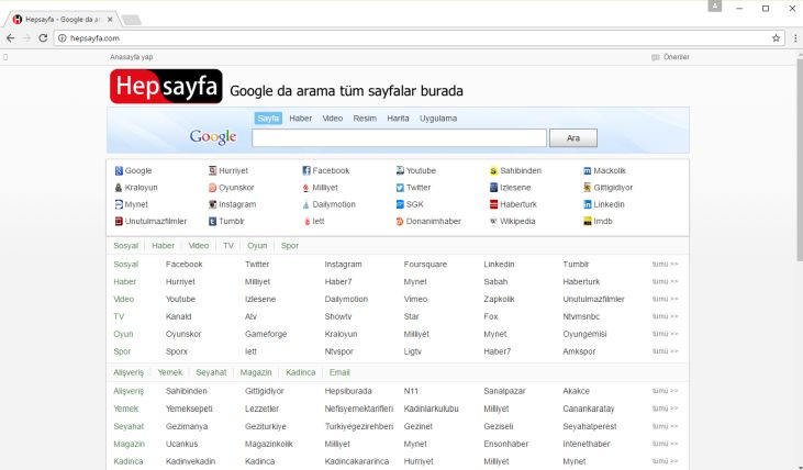 Hepsayfa.com virus