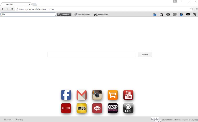 search.yourmediatabsearch.com homepage