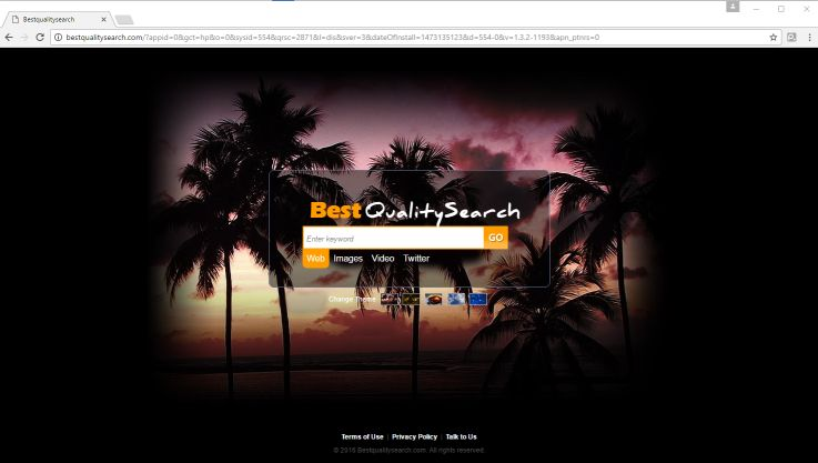 Bestqualitysearch.com homepage
