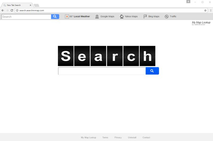 Search.searchmmap.com homepage