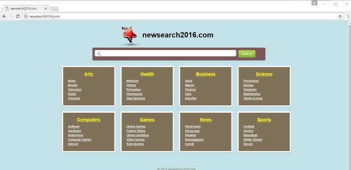 NewSearch2016.com Virus