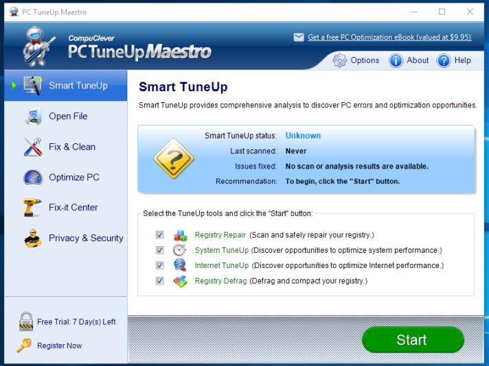 PC TuneUp Maestro adware