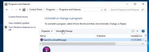 How to remove Open Download Manager (Uninstall Guide)