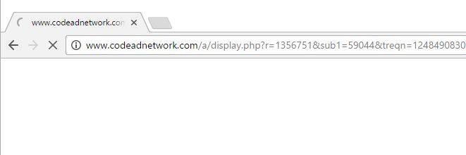 Codeadnetwork.com Virus