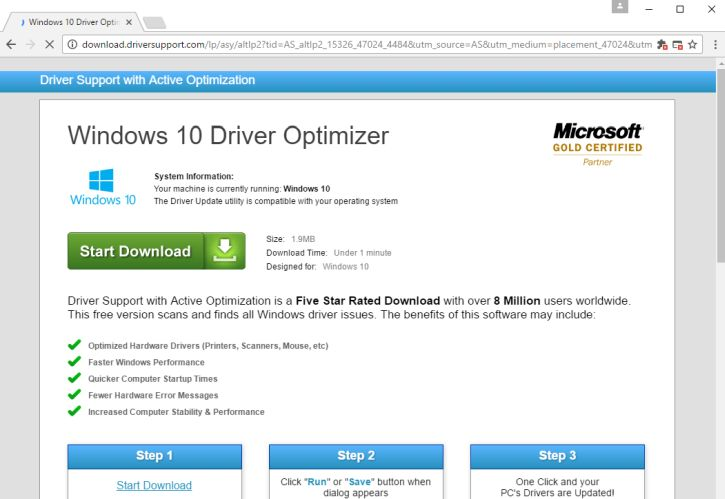 what is driver support active optimization
