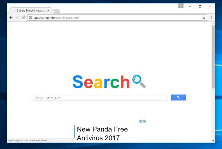 Ageofcomp.info/search/start.html virus