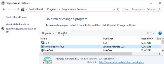 How to remove Driver Updater Plus (Uninstall Guide)