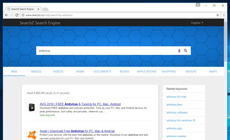 search engine software free download